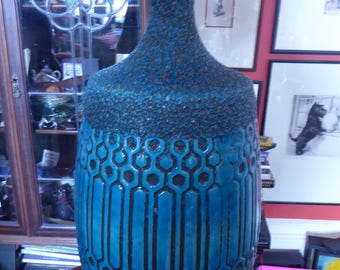 Absolutely MASSIVE Vintage 1960s Rimini Blu BITOSSI Lamp