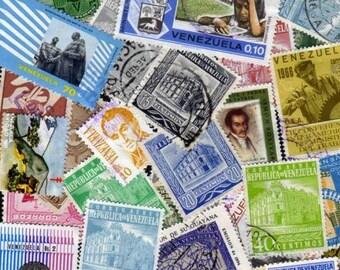 50 Diff. Venezuela Stamps, Venezuela Postage stamps, Venezuelan Stamps, South American Stamps, Stamp Collection, Postage Stamps,Stamps
