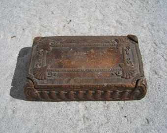 Ornate Brown Box