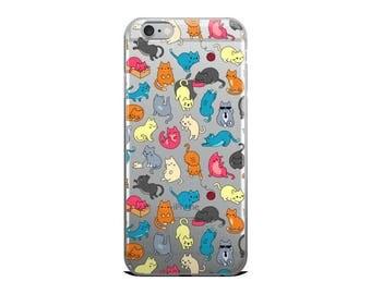 Crazy Cat Lady iPhone Case   iPhone 5, 6/6s, 6/6s Plus, 7, 7 Plus, Cute Cat Phone Case Graphic, Cat Phone, Cat Phone Case