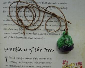 Amethyst Dream  ~ Amethyst and Quartz gemstone Pendant