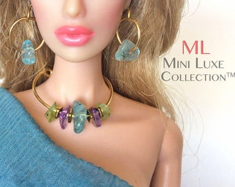 Doll Jewelry for Fashion Royalty, Barbie, Silkstone Barbie, Poppy Parker & other Fashion Dolls | Jewelry for Fashion Doll | Doll Accessories