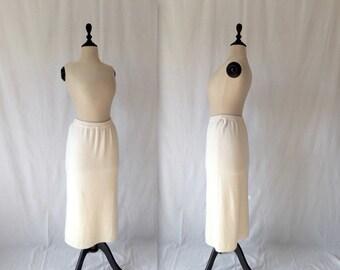 1960s Pringle cashmere skirt
