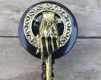 Game of Thrones Retractable Badge Reel/Hand of the King/Tv show fan/RN Badge/Brooch Lanyard/Cute Badge Reel/ID Holder/RN Graduation Gift