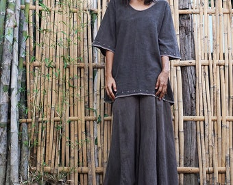 loose blouse top, blouse top loose, womens loose blouse, loose fit sweater, boho hippie clothes, cotton boho top, summer loose top, blouse