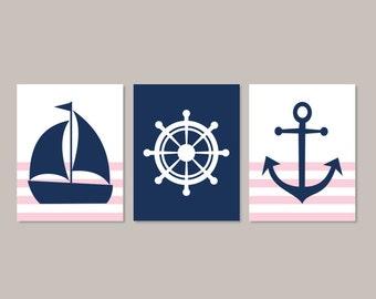 Nautical nursery art | Etsy