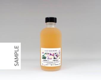 SAMPLE Exfoliating Lavender Face Toner, Facial Toner, Natural Skin Care, Exfoliator, Lavender Skincare, Willow Bark Toner, Organic Skincare