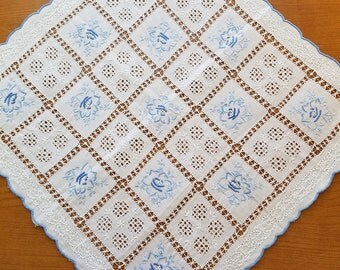 Vintage Handkerchief  #83