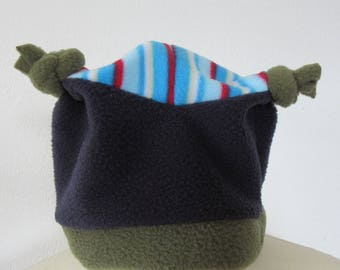 KidsMulticolored Hat,a great Kids Hat, Toddler Hat,Baby Hats a unique Baby Gift, a warm Winter Hat