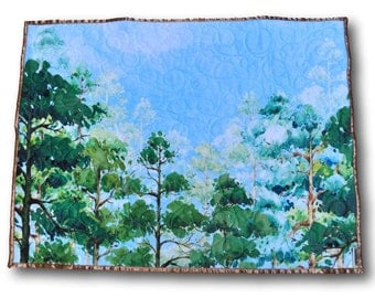 Forest Baby Quilt * Woodland Baby Quilt * Forest Nursery Bedding * Woodland Crib Bedding * Woodland Nursery * Forest Nursery * Tree Quilt