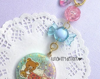 Berry Pie Resin Purse Charm