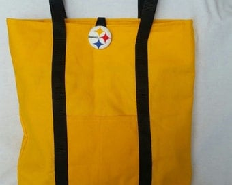 Gold Steelers Purse