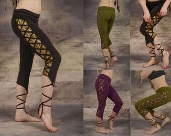 Pixie Leggings Hippy Psytrance Festival Goa Party Forest Wear One Size: Regular Wobble and Squeak Original