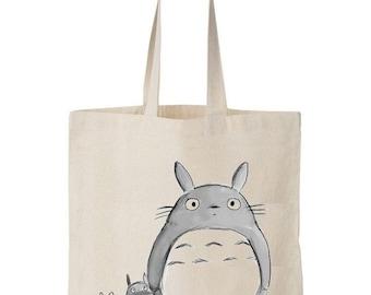 Tote bag Totoro & Friends