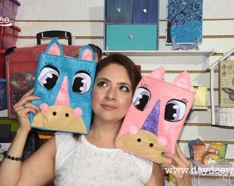 PDF- Unicorn Bag felt, Unicorn Felt, Unicorn Pattern, Unicorn Toy Bag, felt unicorn bag pattern, Unicorn Party,