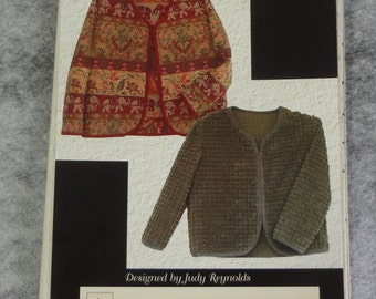 UNCUT Sew Fine Jacket designed by Judy Reynolds for Black Cat Creation  2004 Sizes 4-22