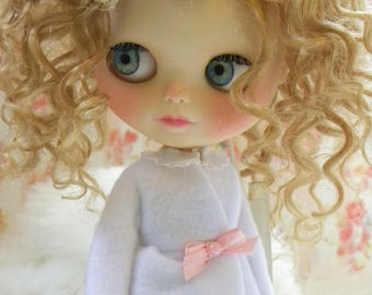 Custom Blythe Doll / Mohair / OOAK / Clothes