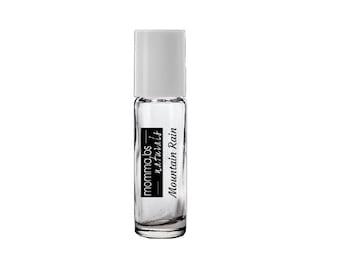 Natural Body Fragrance MOUNTAIN RAIN Perfume Cologne Oil 10ML