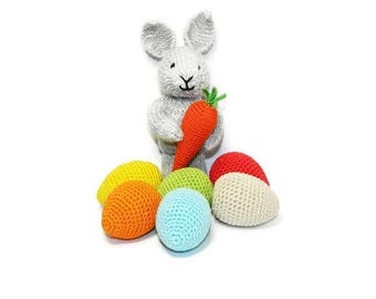 35% Sale gift easter bunny toy for baby gift for kids easter egg decorations birthday gift for girl nursery decor carrot toy home decor baby