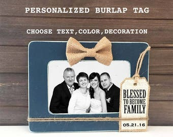 Wedding Gift for Parents of the Bride or Groom, In-Law Wedding Gifts, Father of the Bride gift, Groom Parents gift, In-Law Wedding Frames