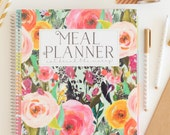 NEW! Meal Planner - Secret Garden