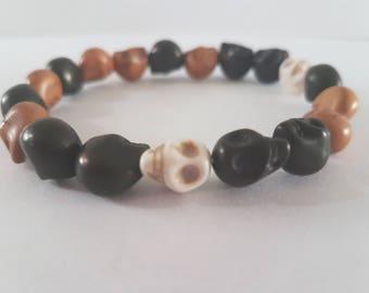 Dean's skull bracelet