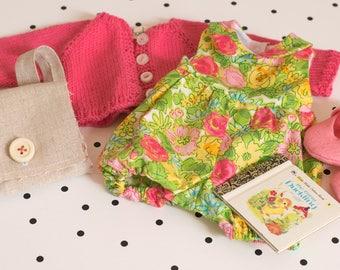 Spring Sunsuit Set for Rag Doll