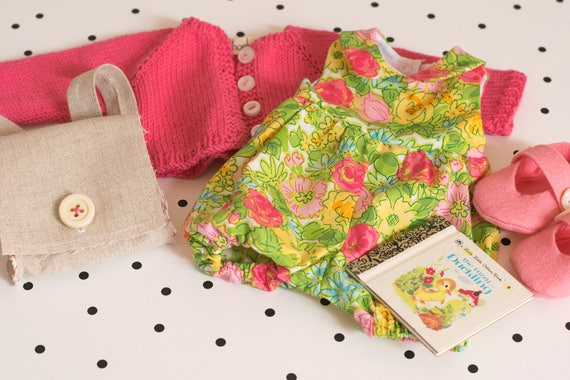 Spring Sunsuit Set for Rag Doll