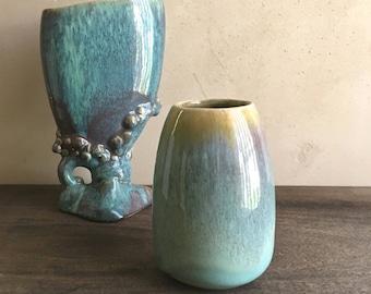 Fulper Pottery Vase, Modern Cabinet Vase