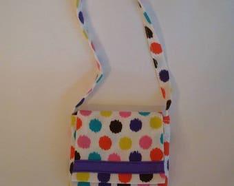 Polka Dot Purse for American Girl Dolls and 18-inch Dolls – Colorful Polka Dot Purse