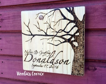 Family name sign, Rustic wood sign, Personalized sign, WOOD BURNED, Rustic home decor, custom wood sign, Established sign, Rustic wall decor