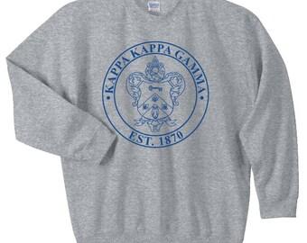 Kappa Kappa Gamma Crest Sweatshirt
