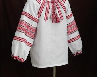 Ukrainian blouse. National Ukrainian clothing. Women's blouse. Blue or Red. Different sizes.