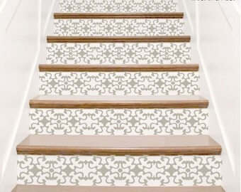 Vinyl Decal For Stair Risers   U0027The Barnabusu0027 Adhesive Stickers For Wall  Border Decor