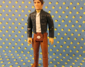 Han Solo (Bespin) - Vintage Kenner Star Wars (The Empire Strikes Back) 1980  Action Figure