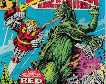 Godzilla #7, February 1978 Issue - Marvel Comics - Grade VF