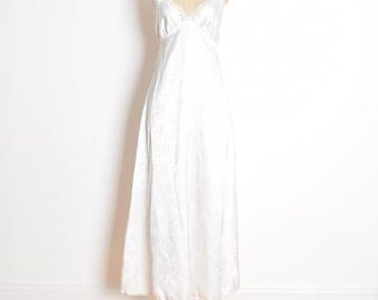 christian dior gown, 80s dior nightgown, white nightgown, lingerie dress, wedding nightgown, white sun dress, 1980s 80s clothing, S small