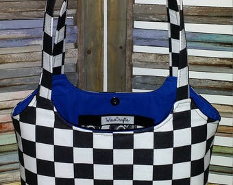 Racing purse Checkered Flag