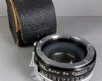 Vivitar Auto 2x Custom Tele Converter for Nikon F mount Model 2x-3