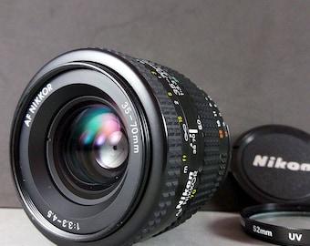Nikon AF Nikkor 35-70mm f/3.3-4.5 Auto Focus Zoom Lens for digital & 35mm cameras