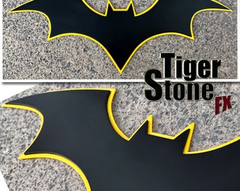 2-Tone Batman Rebirth comics inspired chest emblem #2 - Can be made in various colors