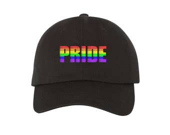 from Emerson gay pride baseball caps