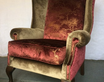 Luxury Wing Chair