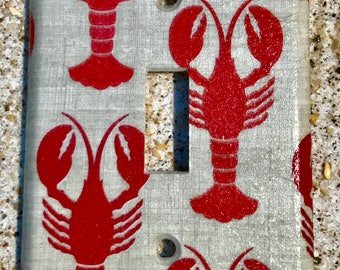 Lobsters Light Switch Cover