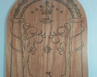 Door of Durin Decoration