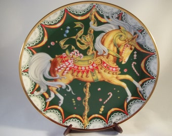 Franklin Mint Collectible Plate - American Lung Association - CHRISTMAS SUGAR PLUM