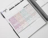Easter - Pastel // Glitter Sampler (44 Planner Stickers)