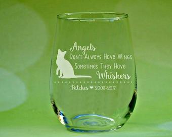 Pet Loss Gift, Pet Memorial Glass, Dog Memorial Gift, Cat Memorial Gift, Pet Memorial Gift, Loss of Pet, Pet Loss, Cat Loss, Dog Loss, Cat
