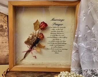 Wedding Bouquet Shadow Box Etsy