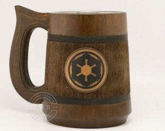 Star wars gifts. Star wars mug 23Oz. Empire logo mug. Star wars gift. Starwars gifts. Starwars stuff. Best star wars gift, Beer stein